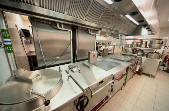 St Pancras Commercial kitchen provided by Hansens
